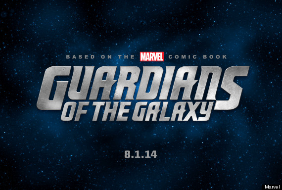 Guardains of the Galaxy movie logo
