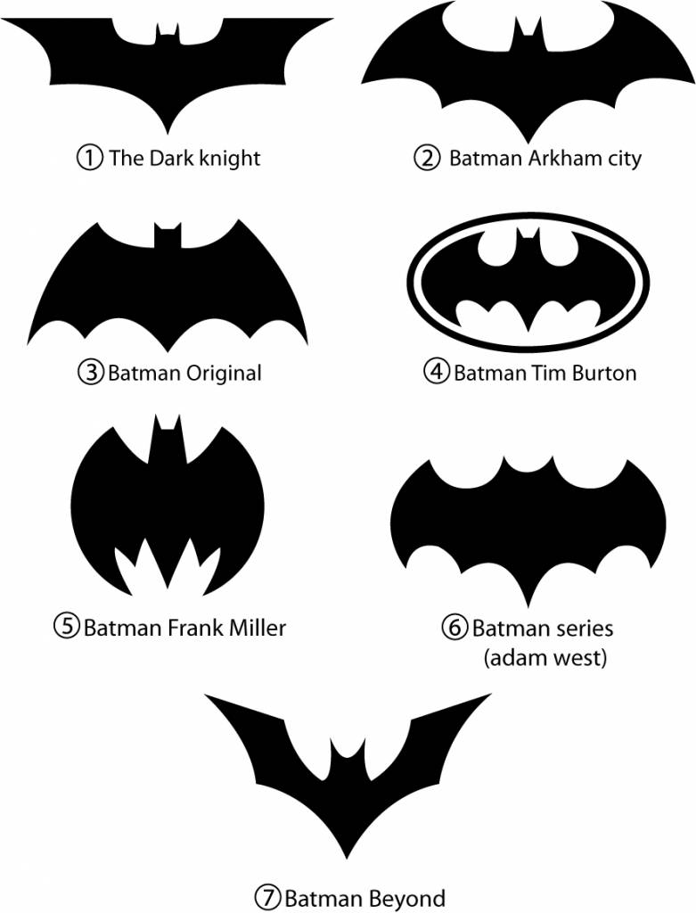 Logosociety Batman Icon amp Logo
