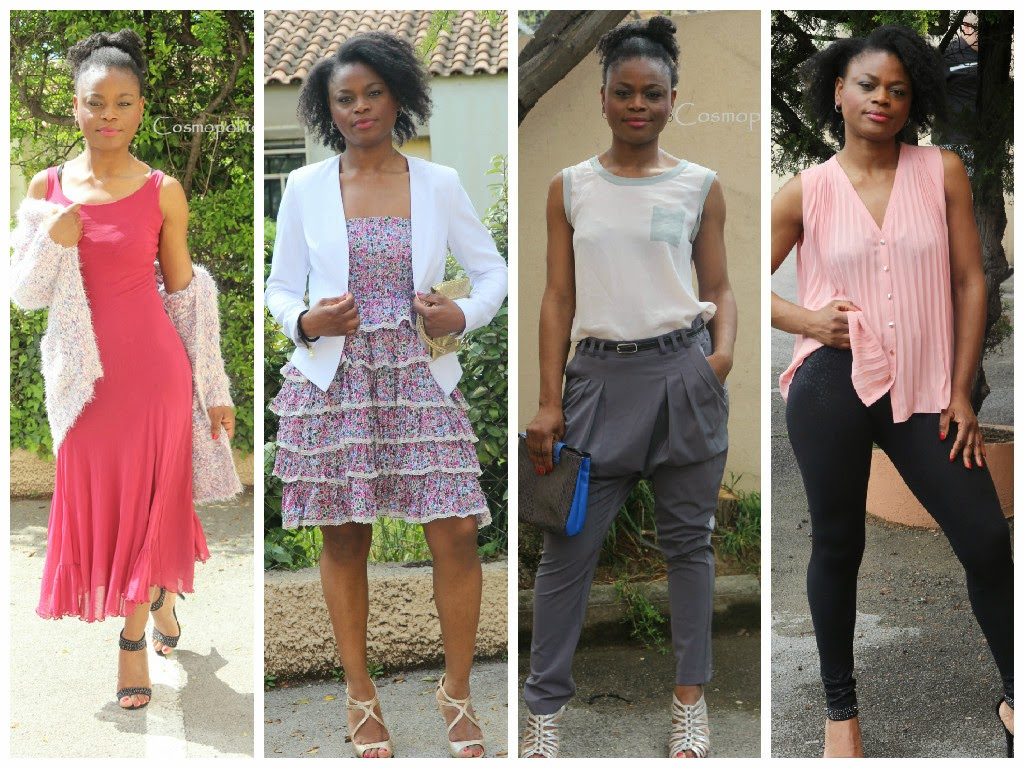byn french challenge, lookbook, cosmopolite beauté, cosmopolitan beauty, tenue, pastel, look,