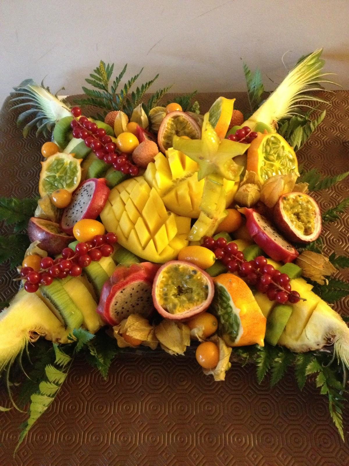 A chacun sa gourmandise d co de fruits for Decoupe fruit decoration