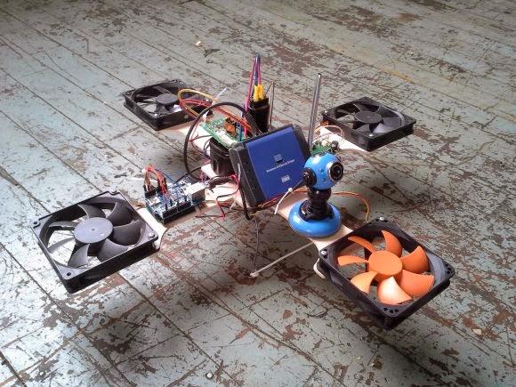 Самодельный дрон своими руками