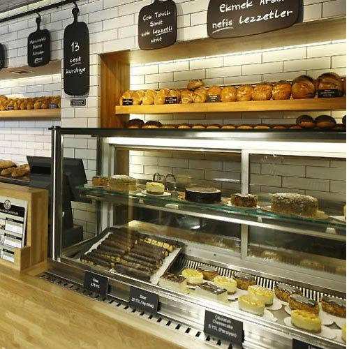 Traditional Bakery Shop Design