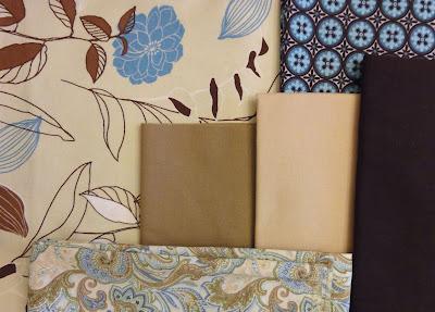 fabrics for origami bag set