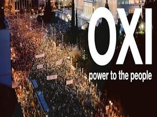 Athens OXI demo