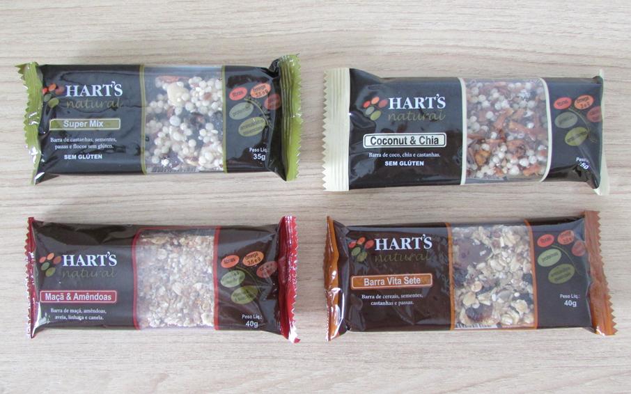 barra, cereal, saudável, saborosa, hart's
