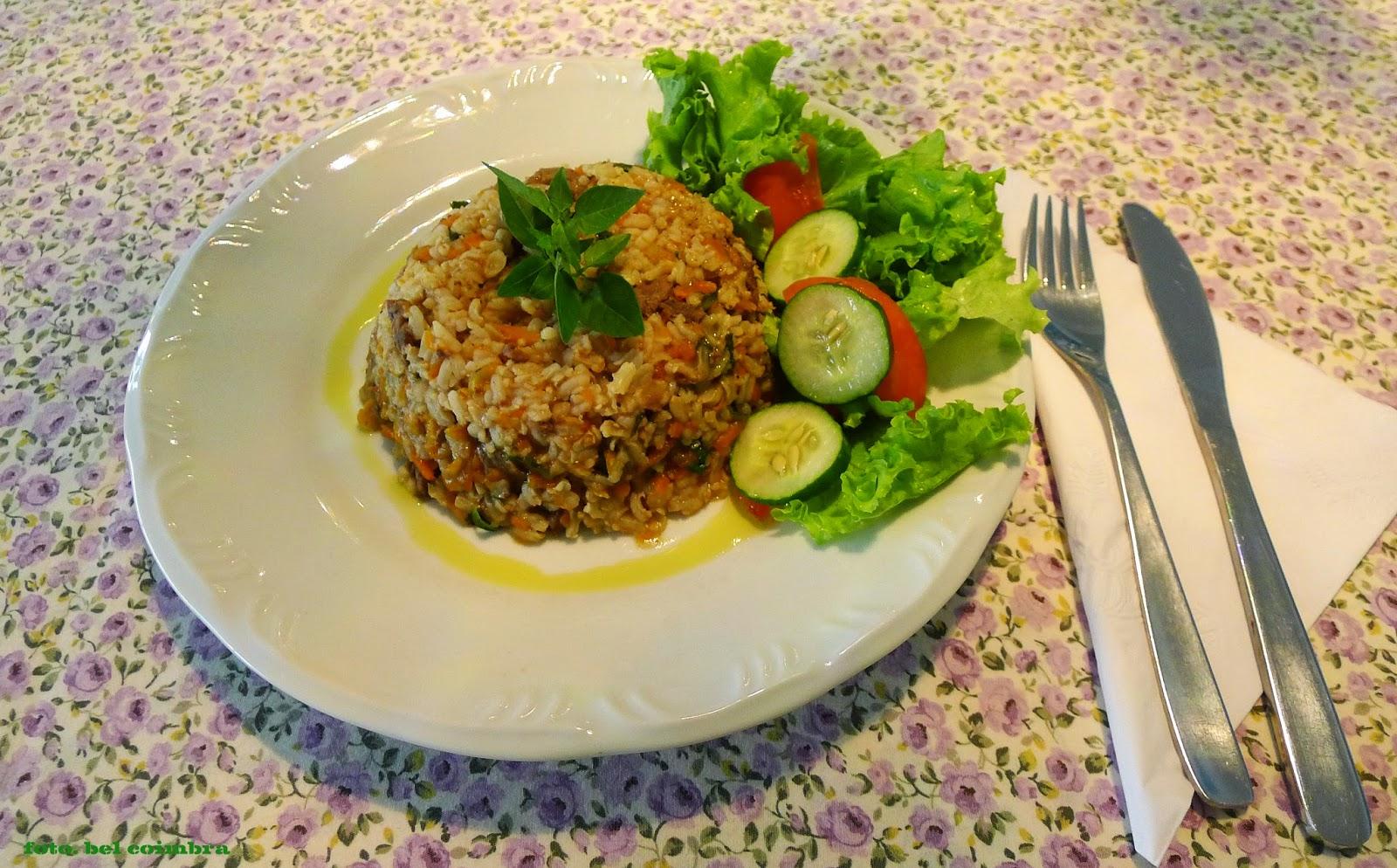Arquiteta arteira risotto arroz integral - Risotto arroz integral ...