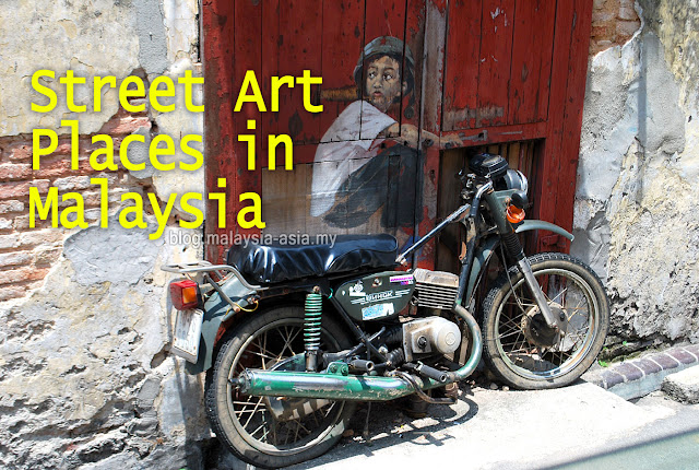 Places to See Street Art in Malaysia