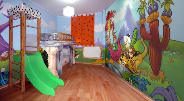 Dormitorio picapiedras