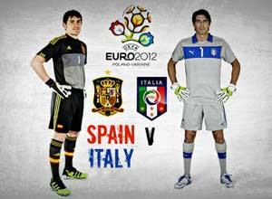 Prediksi Spanyol vs Italia 2 Juli 2012 di Final Euro 2012