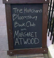 Hatchard Bloomsbury Bookclub Event with Margaret Atwood