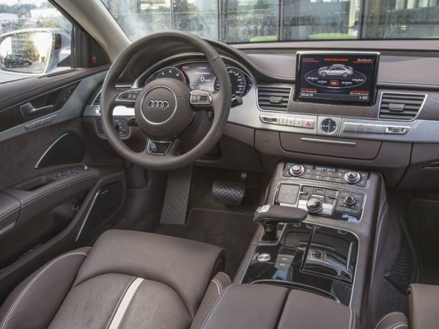 2014 Audi A8 interior