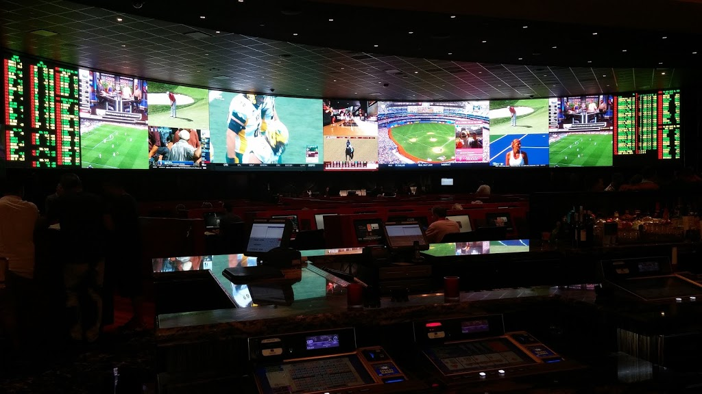CG Tech sports book at Venetian