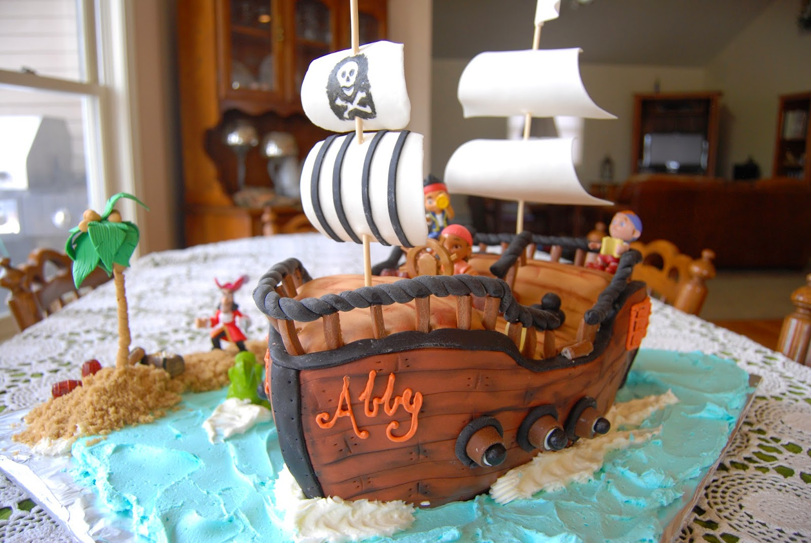 Gamma Susies This N That Pirate Ship Birthday