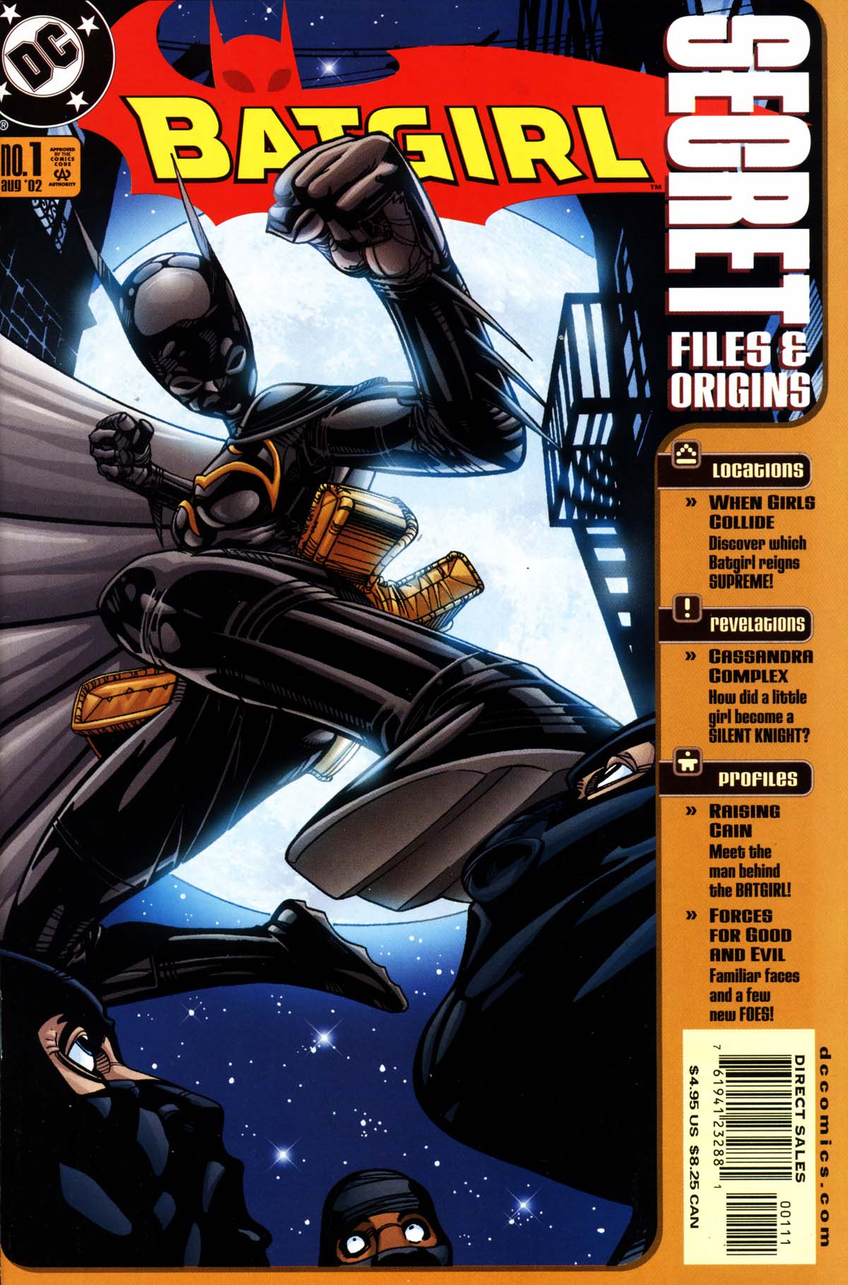 Batgirl Secret Files and Origins Full Page 1