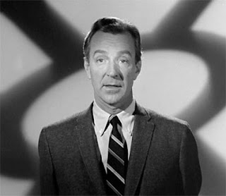 John Newland, host of the TV series One Step Beyond (1959 - 1961)