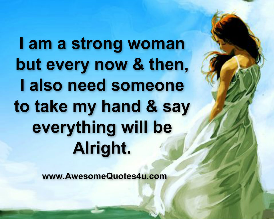 I am strong quote inquiry answer