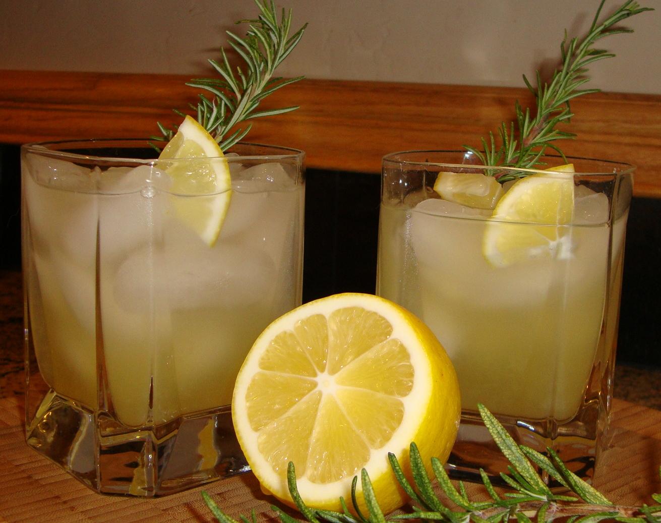 Ginger, Rosemary, Lemon Spritzer Friday's 5 o'clock Wet Your Whistle ...
