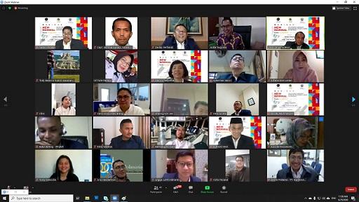 Selamat dan sukses WEBINAR CIMA - NEW NORMAL : 25 Juni 2020