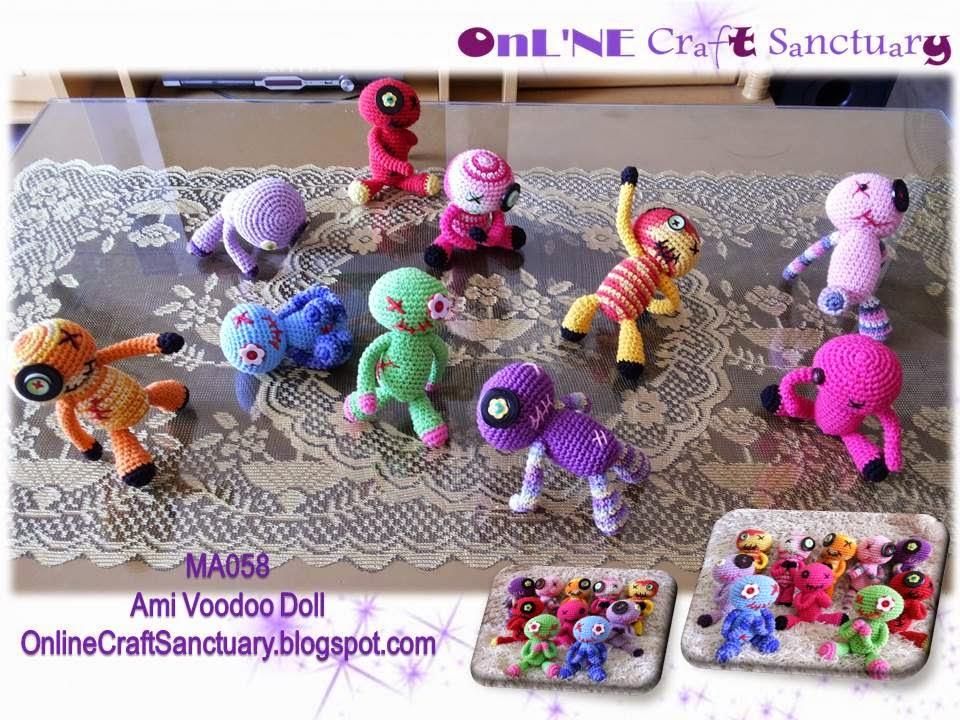 Amigurumi Voodoo Doll : Online Craft Sanctuary: Amigurumi Voodoo Doll