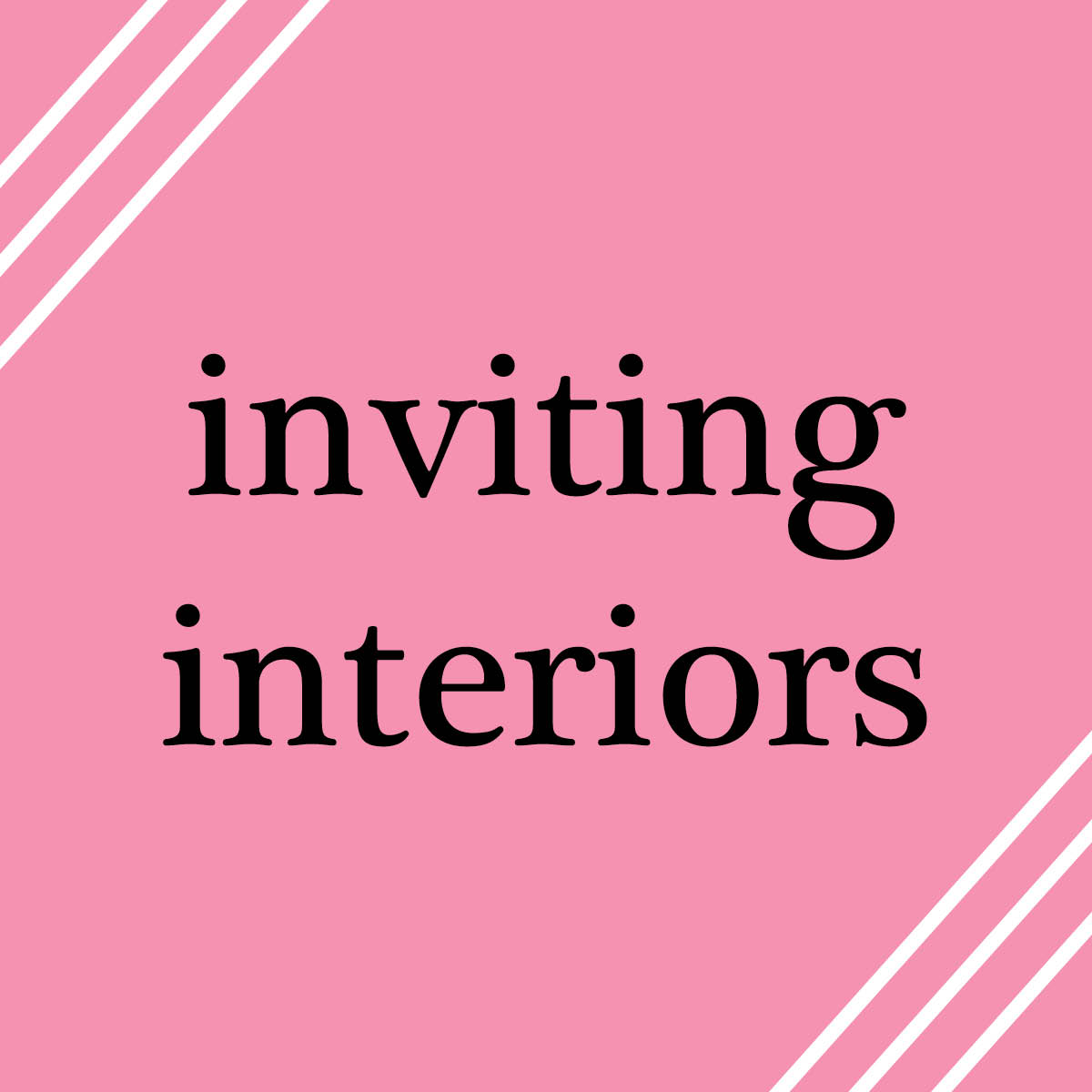 Lattes with liv inviting interiors perkins will part 2 for Inviting interiors