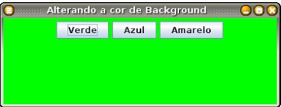 Como mudar o background de um programa em Java