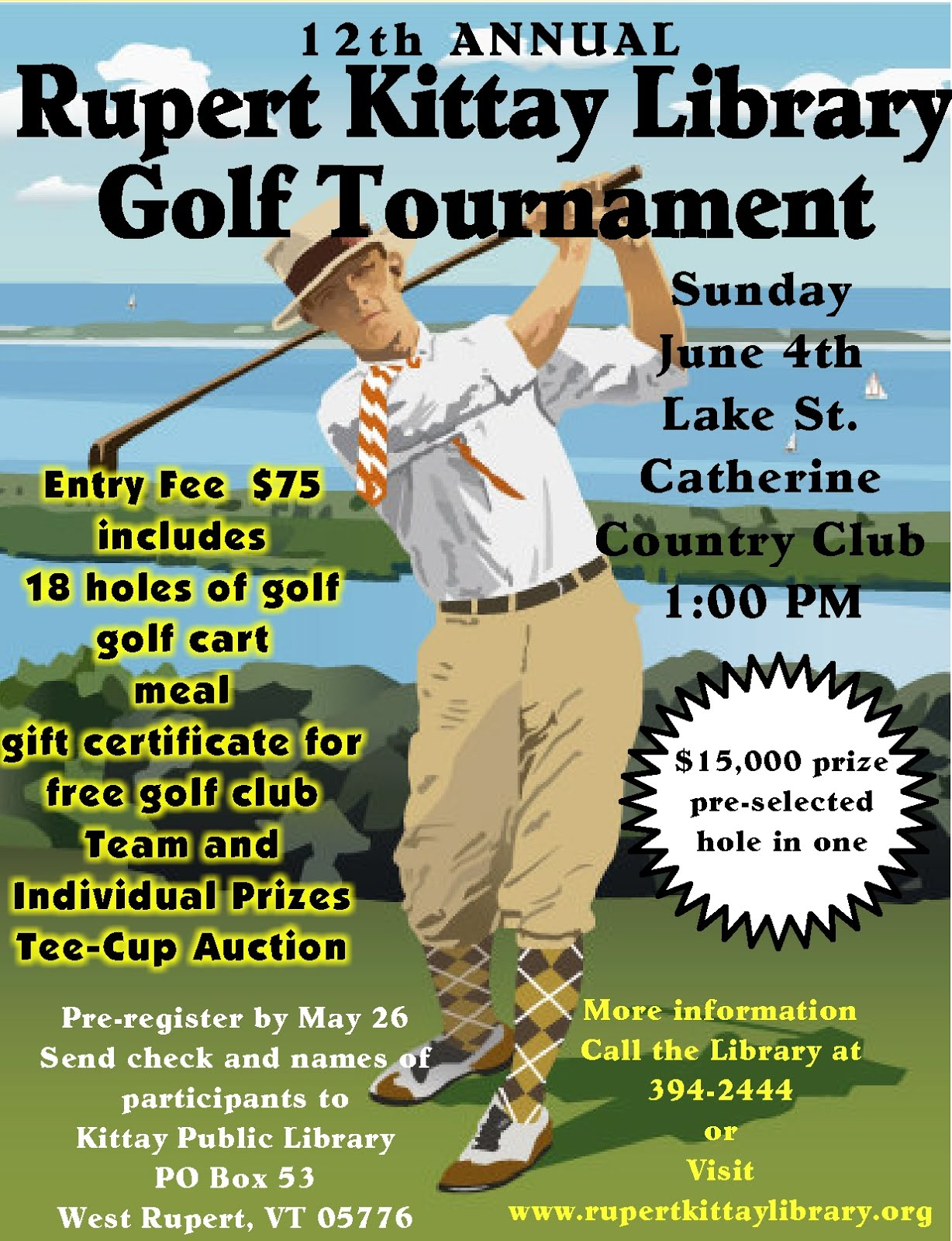 12TH ANNUAL GOLF TOURNAMENT