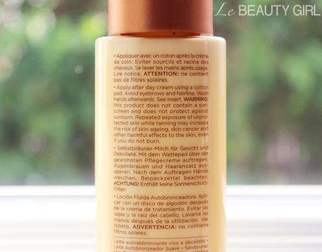 Clarins Liquid Bronze Self-Tanning