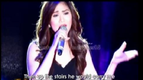 Sarah Geronimo - Dance With My Father @ Sarah G. Live (June 17, 2012)