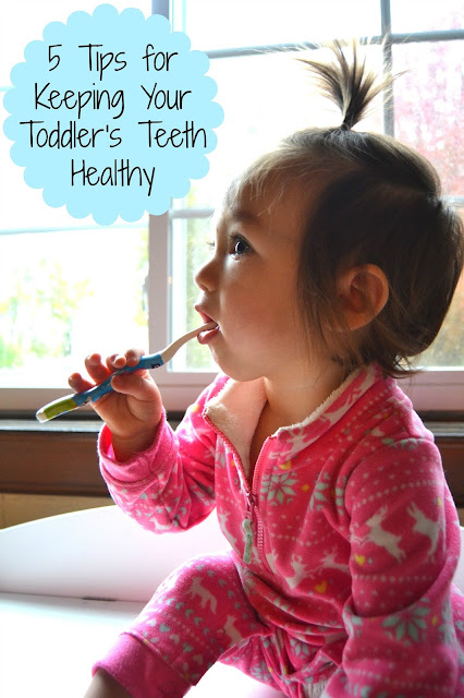 5 Tips for Keeping Your Toddler's Teeth Healthy