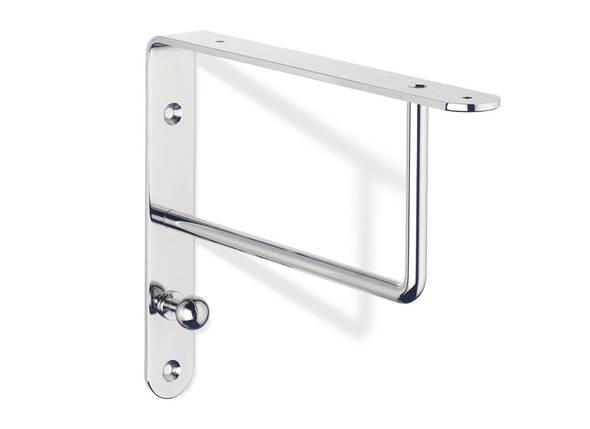 Estantes Metalicos Para Baño:Colección ECO957 de soportes metálicos para estantes y bases de