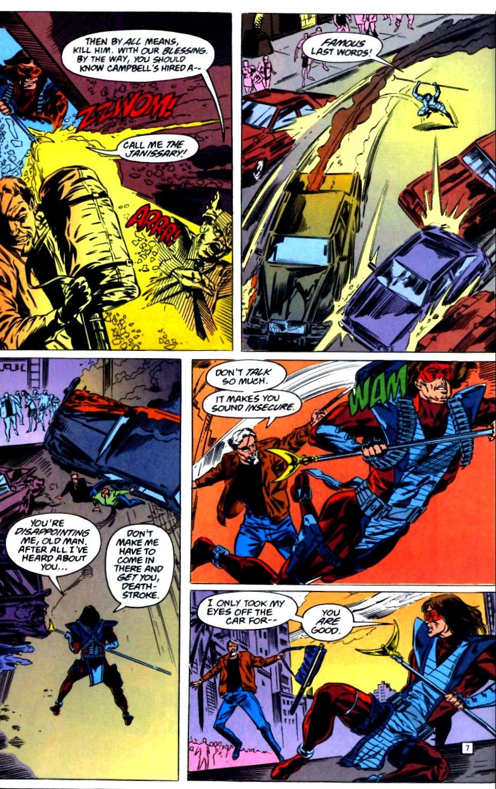Deathstroke (1991) Issue #23 #28 - English 8