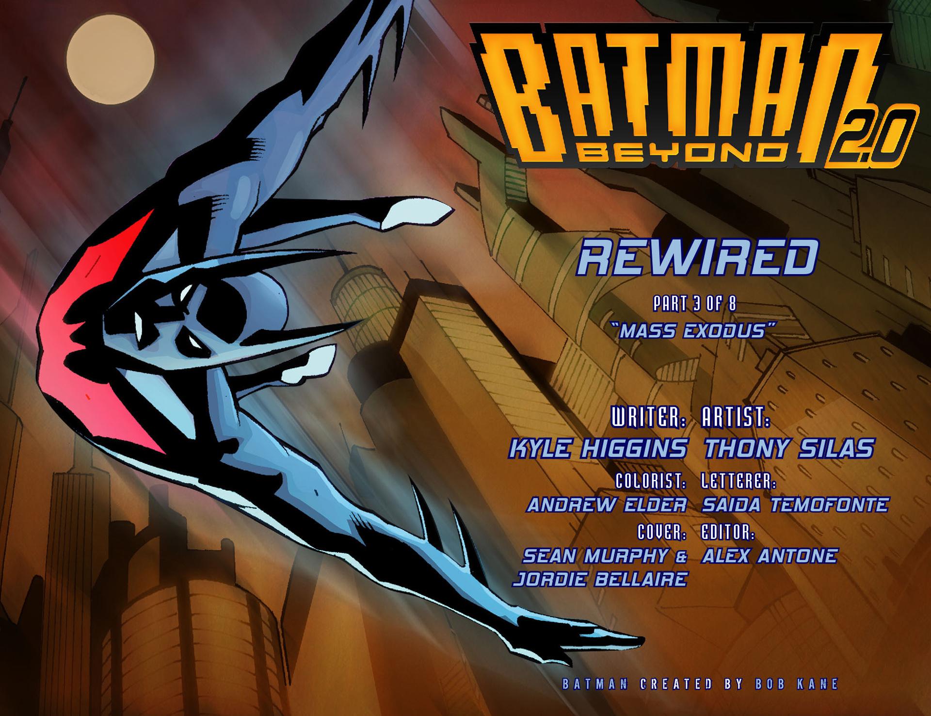 Batman Beyond 2.0 #3 #38 - English 2