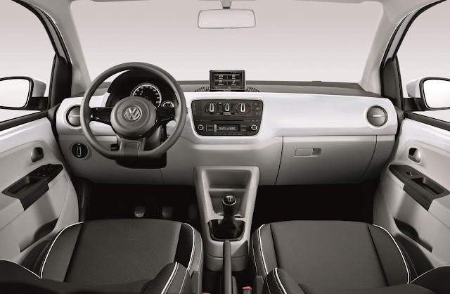 Volkswagen up! TSI - Move-up! - interior