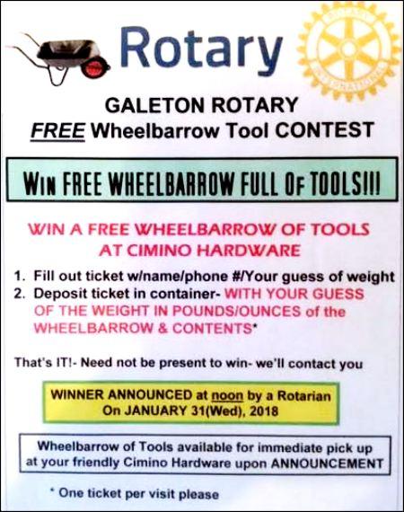 Galeton Rotary Tool Contest