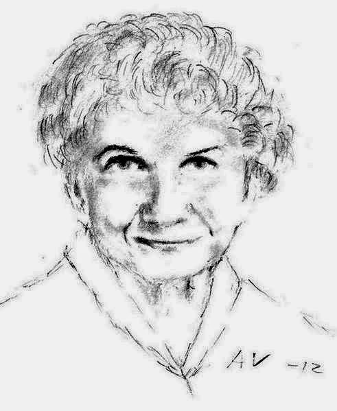Sketch of Alice Munro. Source: http://upload.wikimedia.org/wikipedia/commons/2/2a/Alice_Munro.jpg