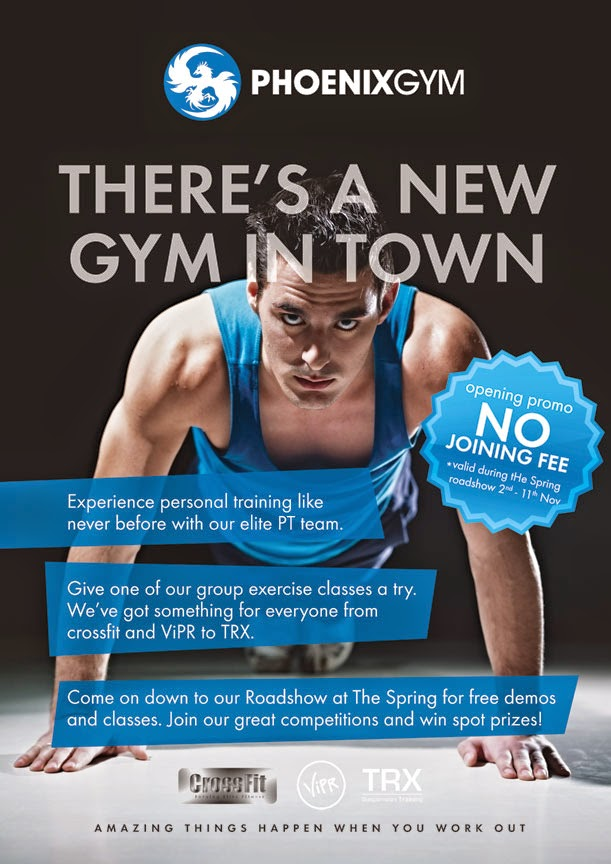 sohojames homework  leaflet    gym opening