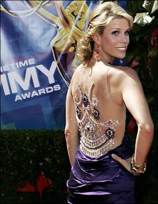 Cheryl Hines vestido de moda