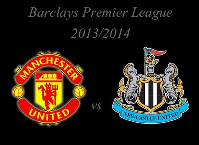 Manchester United vs Newcastle United Premier league 2013