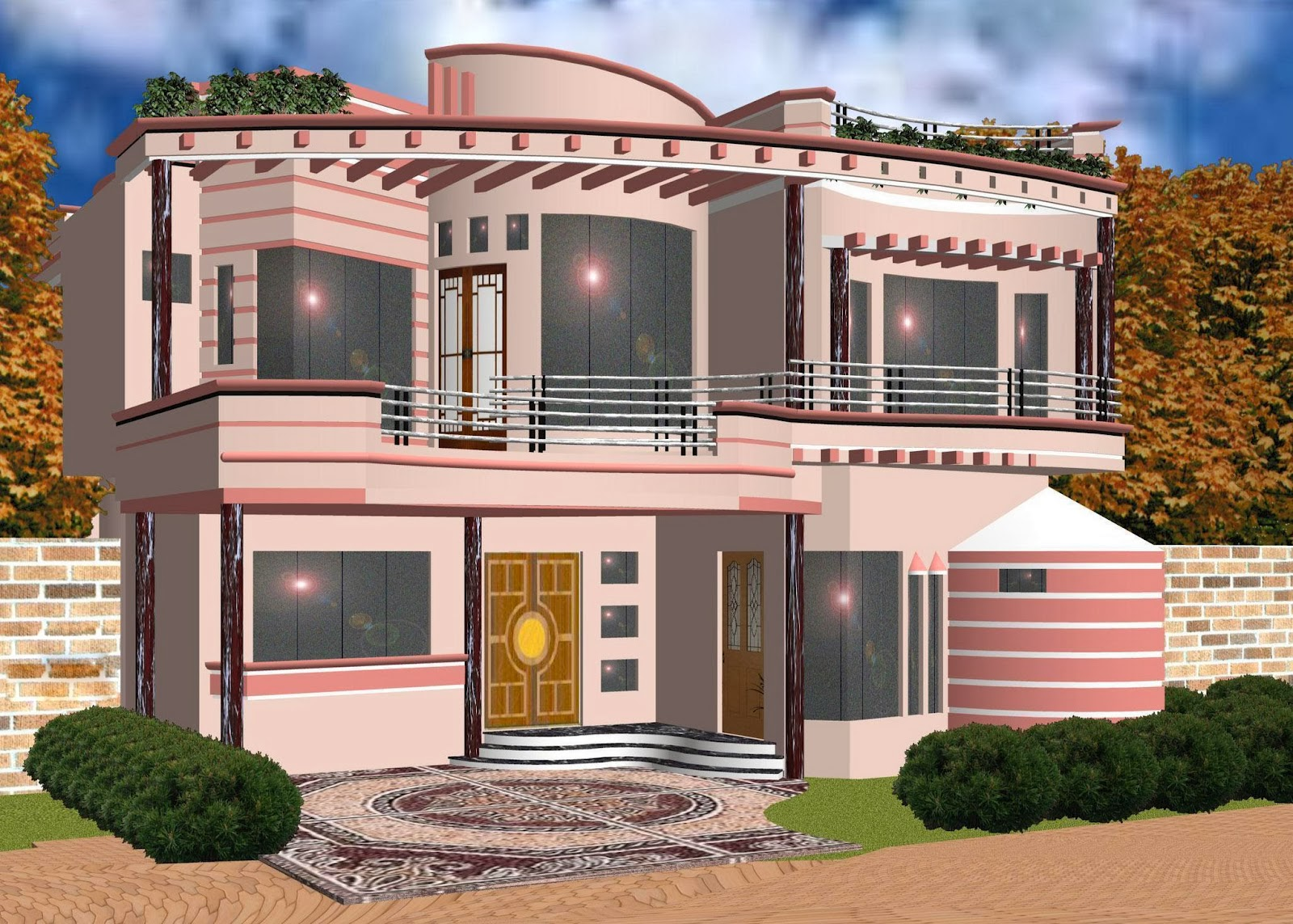 20 Amazing 3d House Exterior Design Styles In 2014