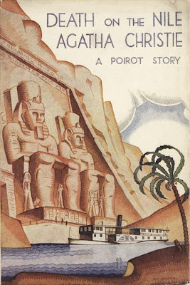 cover of Death on the Nile by Agatha Christie