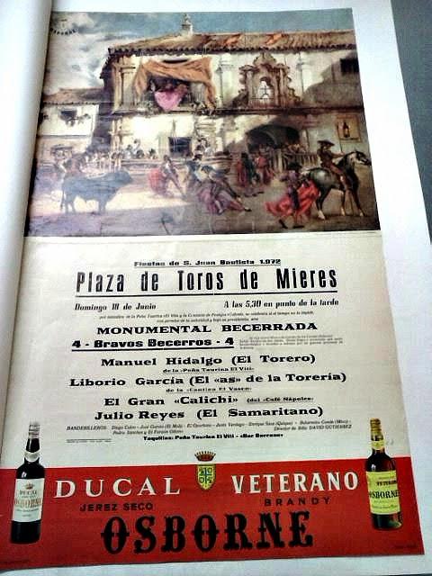 toros en Mieres 1972 archivo del pueblo de asturias
