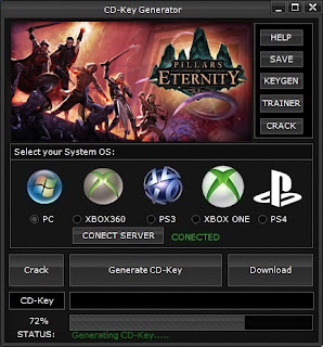 Pillars of Eternity CD Key Generator (Free CD Key)
