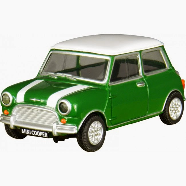 Pendrive Mini Cooper Verde 4 GB