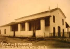 IGREJA DE SÃO TIMÓTEO - ESTRUTURA ORIGINAL