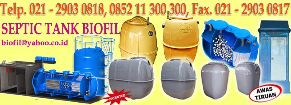 BIOFIL INTERNATIONAL, SEPTIC TANK BIOFIL, PORTABLE TOILET FIBREGLASS, INDURO INTERNASIONAL, DURAL