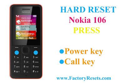 Hard-Reset-Nokia-106
