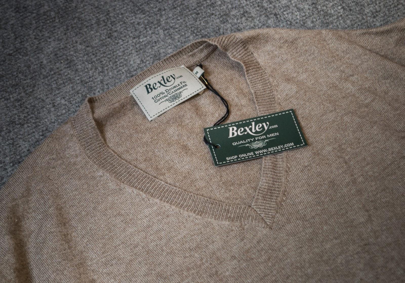 Review Jersey Cotton-Cashmere de Bexley.