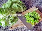 Ciorba de salata verde cu smantana preparare reteta - tocam salata