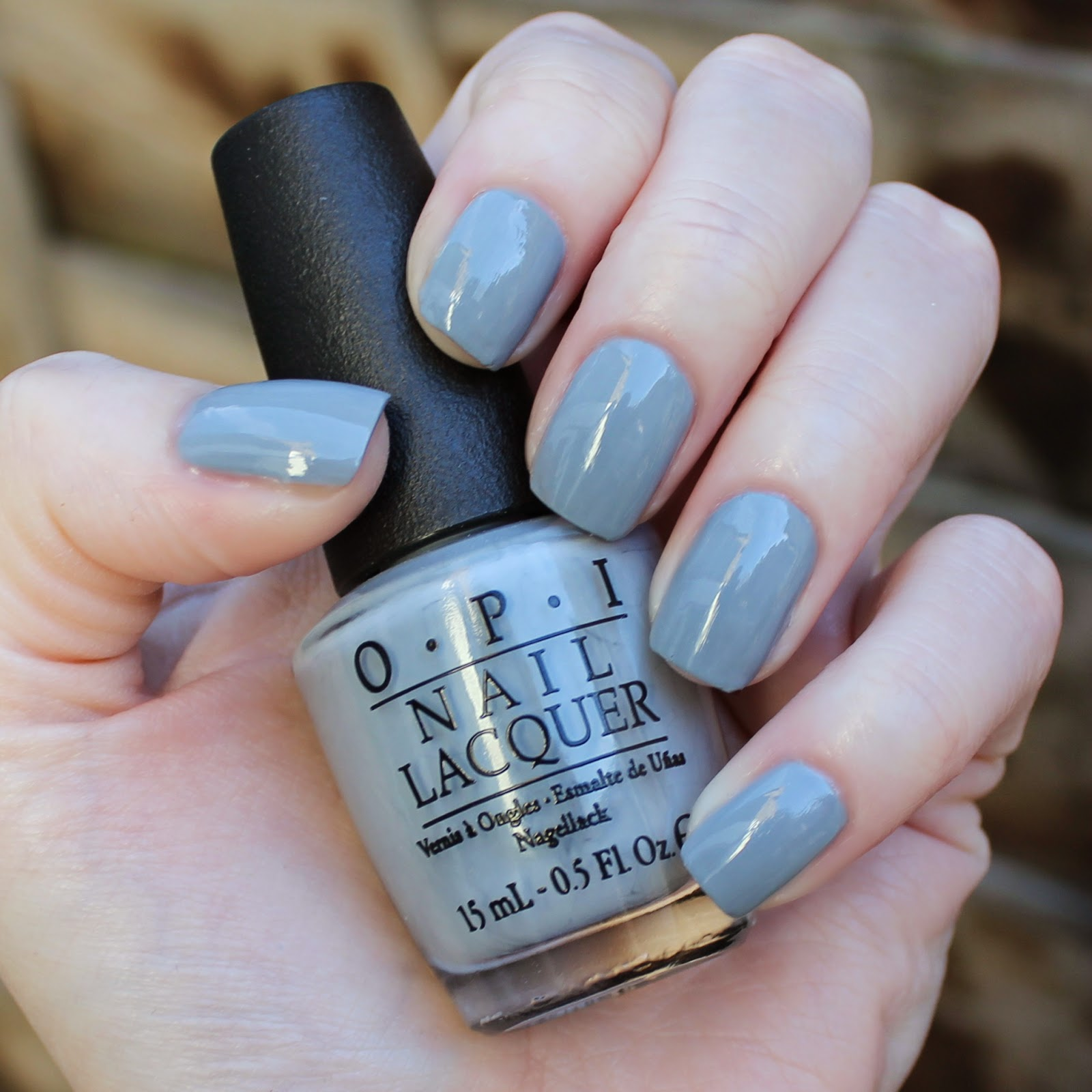 Grey Blue Nail Polish | Best Nail Designs 2018