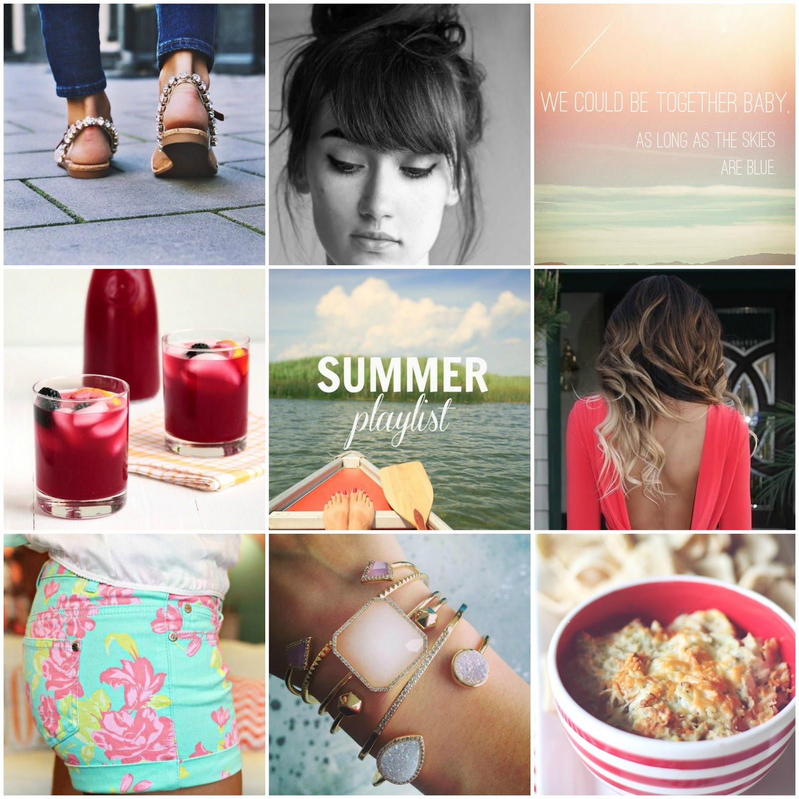 Summer Pinspiration: warm days, top knots, and calvin harris, Summer, Calvin harris summer, lemonade recipe, ombre hair